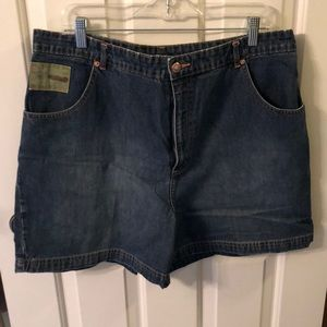 Disney denim shorts